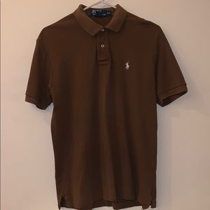 Men's Polo Ralph Lauren polo soft touch brown